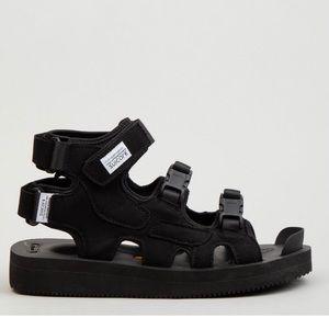 SUICOKE Boak-V Black SANDALS Size 10